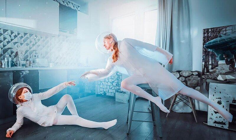 Фотограф из России романтизирует самоизоляцию