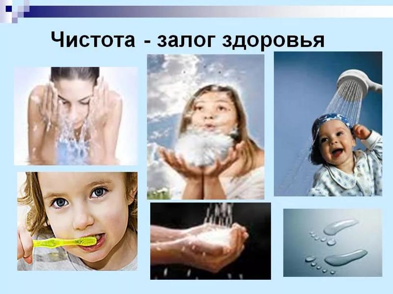 Чистота – залог здоровых тела, помыслов и души