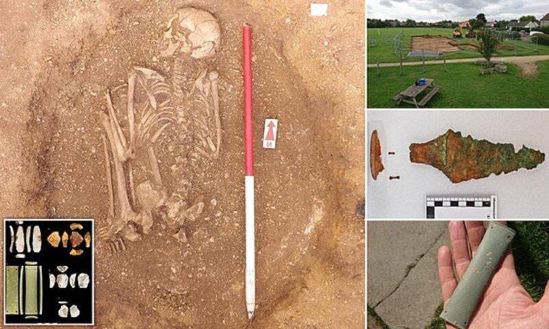 Археологи подозревают британцев в принесении человеческих жертв