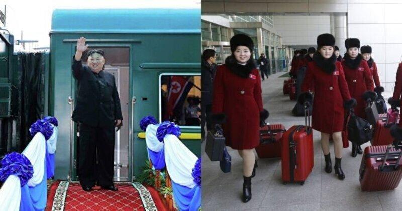 С девственницами на бронепоезде: в СМИ сообщили о кутежах Ким Чен Ына