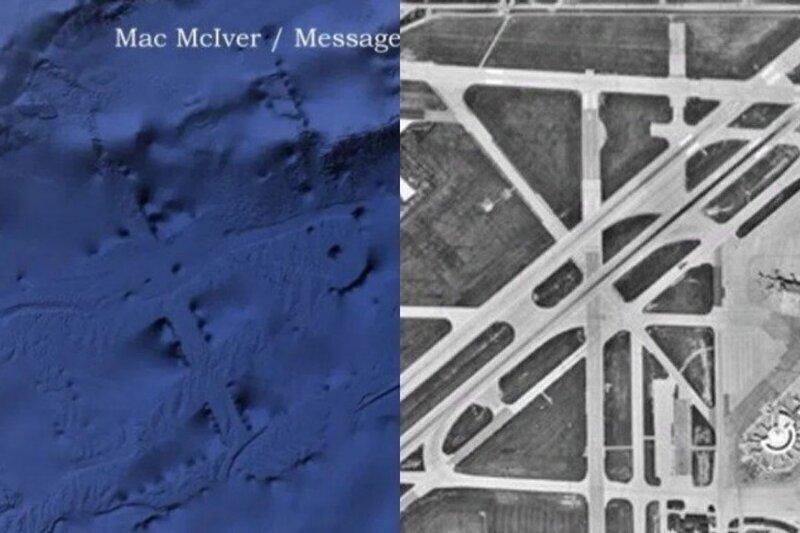 Дайвер из США обнаружил огромные подводные сооружения в Тихом океане