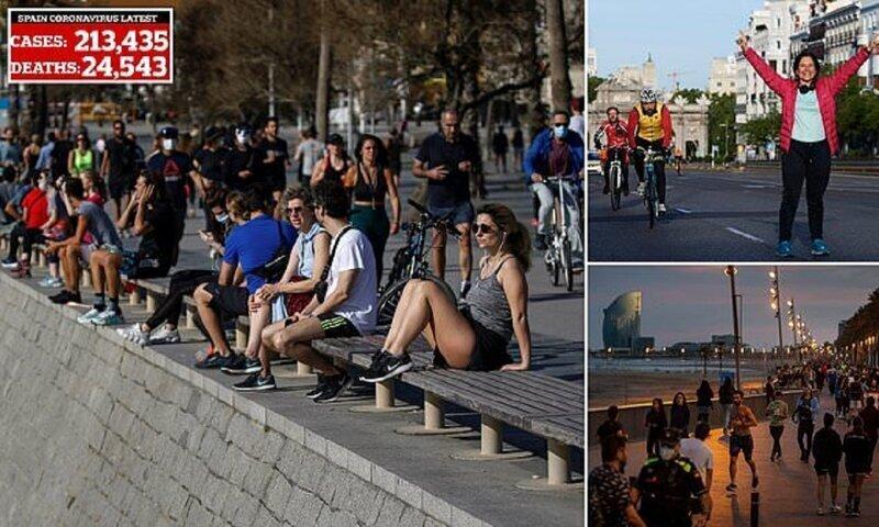 Европа выходит из карантина