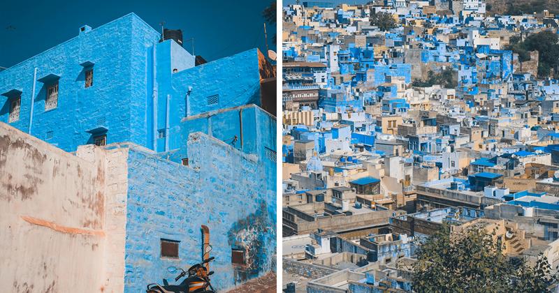 Джодхпур - сказочный голубой город в Индии