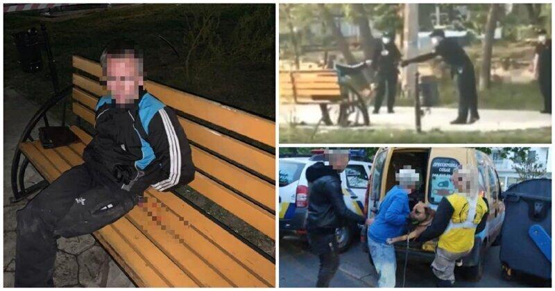Одесским полицейским пришлось ранить собаку, натравленную на них хозяином