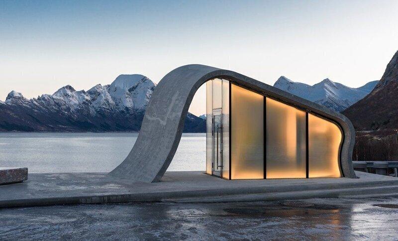 Ureddplassen: один из самых красивых туалетов в мире