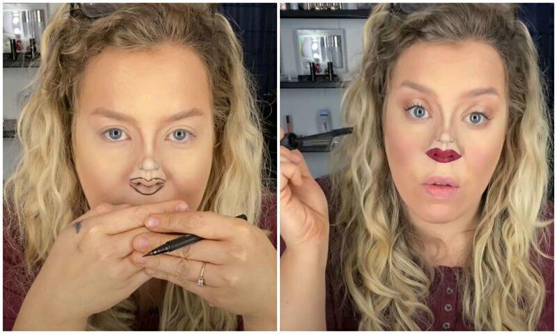 """Визажист показала """"идеальный"""" макияж для карантина"""