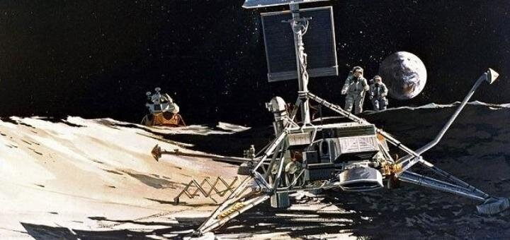 Зачем лунные пиндосы помыли Surveyor-3