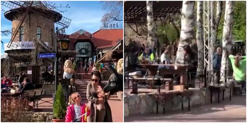 Жители культурной столицы устроили вечеринку у пивнушки