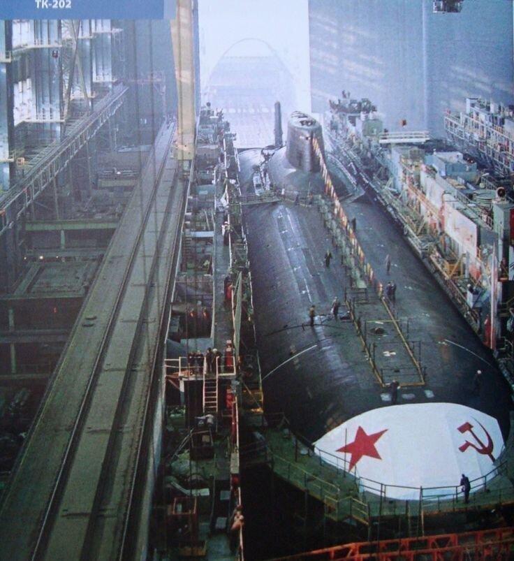Проект 941 «Акула». Ракетный подводный крейсер. Самая большая подлодка в мире