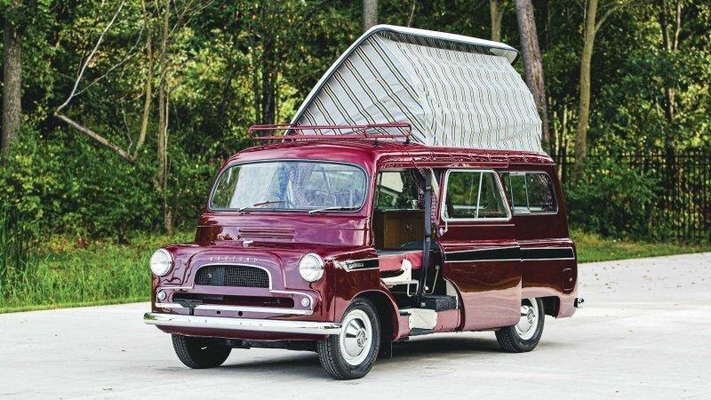 Bedford Dormobile — крутой британский кемпер 1961 года