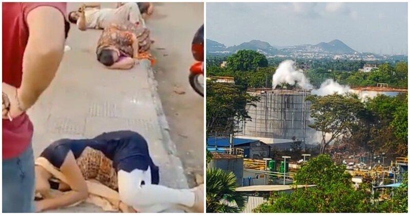 Падают прямо на улице: в Индии из-за утечки токсичного газа отравились тысячи людей