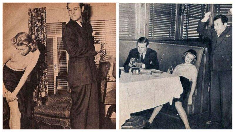 Как правильно вести себя на свидании: советы для одиноких женщин (1938 г.)