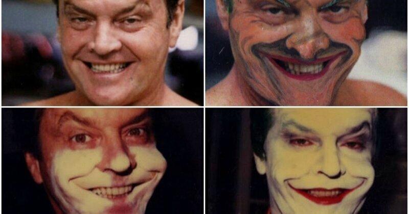 Как Джека Николсона превращали в Джокера