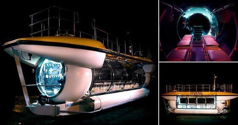 Компания Triton Submarines построила туристическую подводную лодку