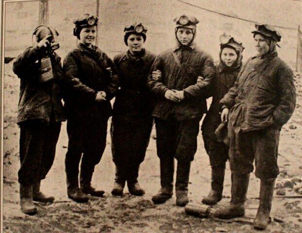 Трудовая  армия: как Кузбасские женщины работали на шахтах во время войны
