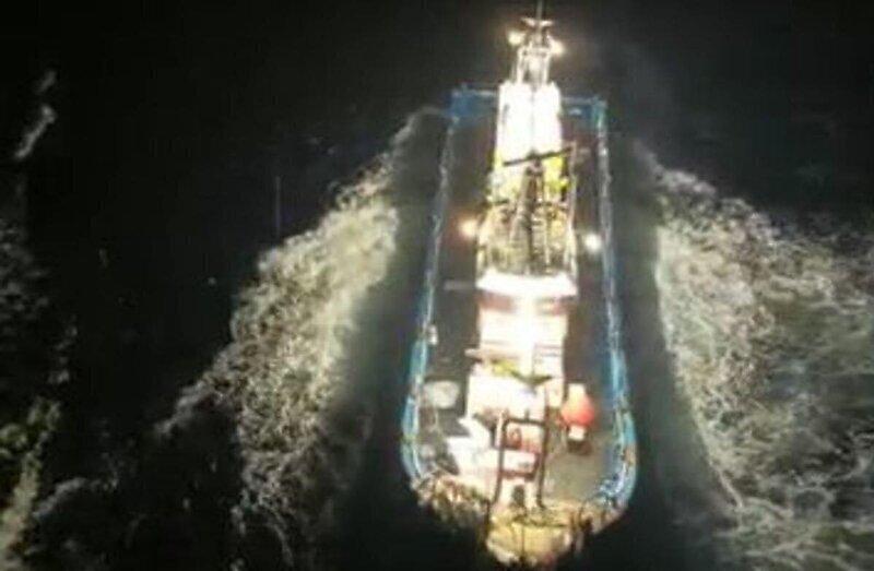 Корейские рыбаки пошли на таран российского грузового судна