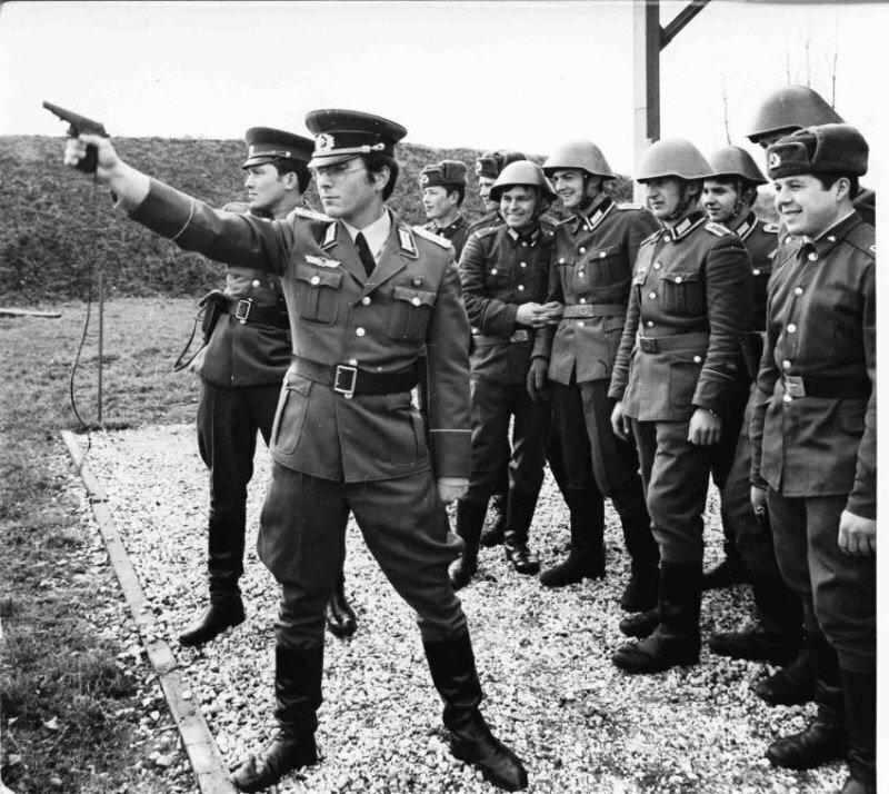 4 дня в Армии ГДР