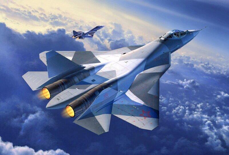 Удивительная мощь и манёвренность российского СУ-57. Король неба