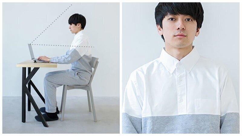 Японцы придумали удобную одежду для рабочих видеосовещаний