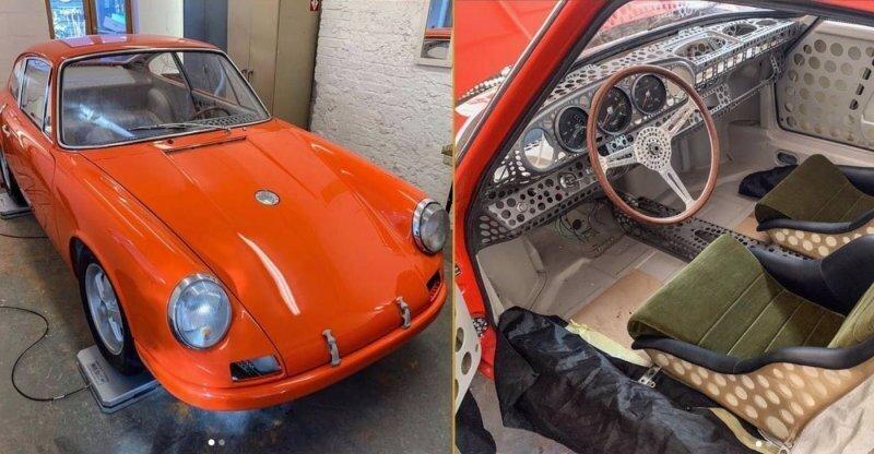 Как швейцарский сыр: мужчина планирует сделать самый легкий Porsche 911 в истории