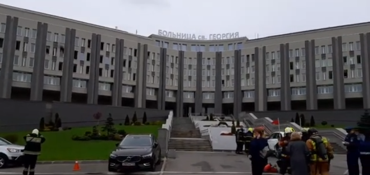 Кошмар в больнице Святого Георгия Петербурга