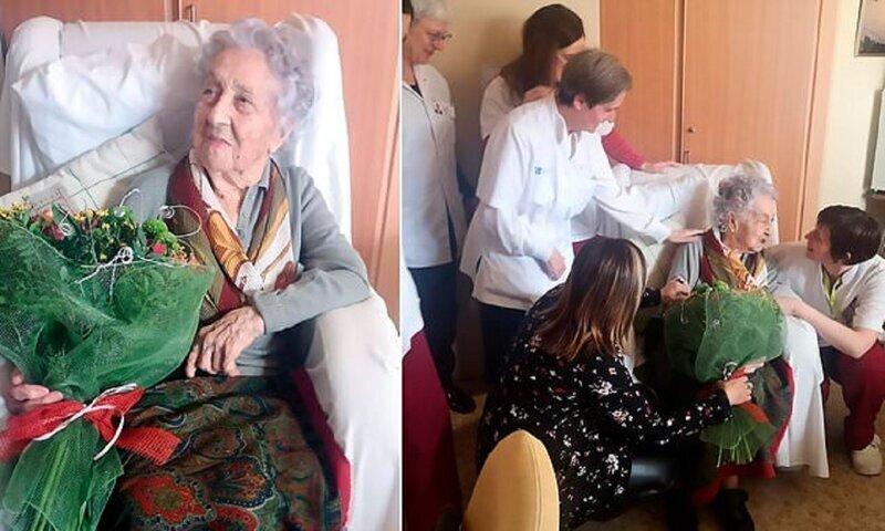 113-летняя испанка стала старейшим человеком, победившим коронавирус