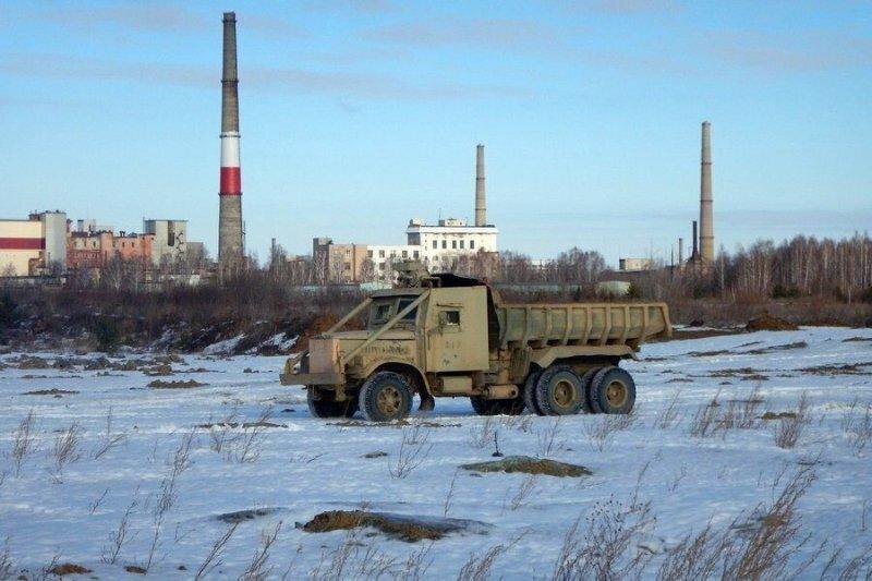 Два Чернобыля на пятьдесят лет: КрАЗы с озера Карачай