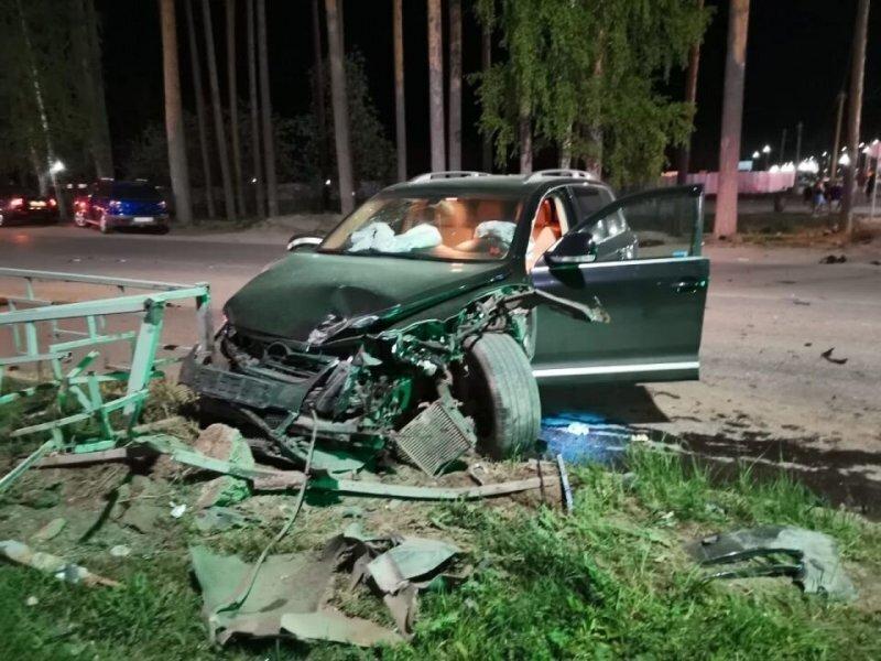 Авария дня. Пьяный водитель с собакой попал в серьёзное ДТП под Екатеринбургом