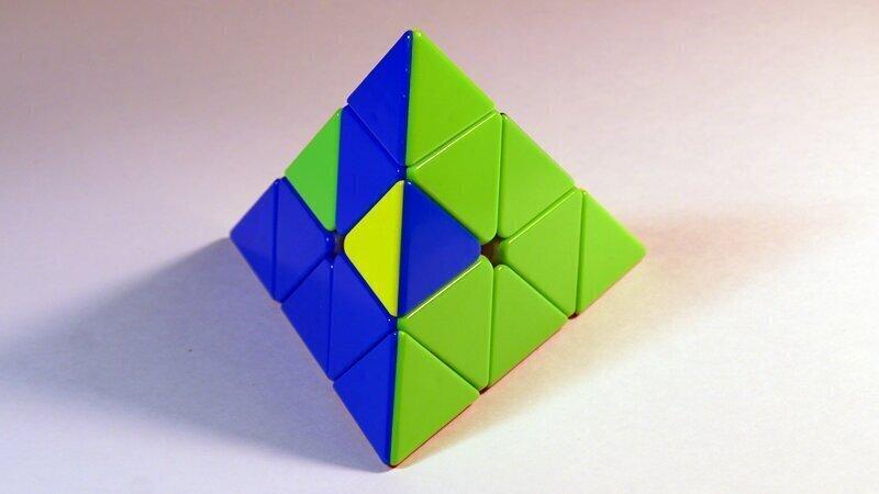 Подробная сборка пирамидки за 10 минут