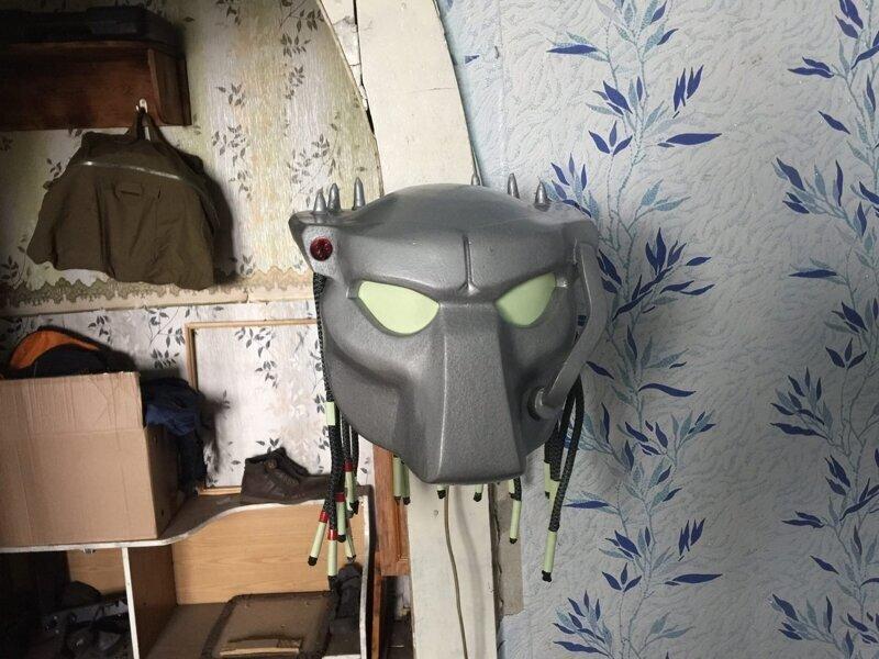 Настенный светильник #predator 01
