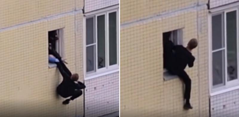 Житель Зеленограда чудом остался жив, выпрыгнув из окна