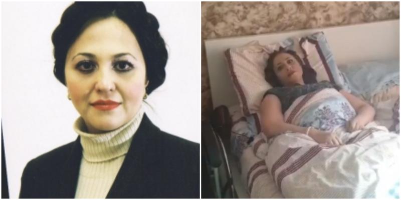 Прикованную к кровати женщину-профессора обвинили в нарушении самоизоляции
