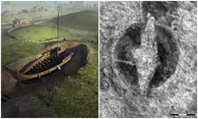 В Норвегии раскопают ладью викингов, погребенную тысячу лет назад