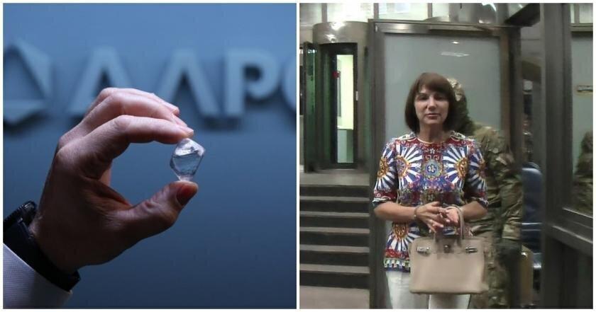 """Вынесла в трусах: сотрудница """"Алросы"""" за несколько лет похитила алмазов на 300 миллионов рублей"""