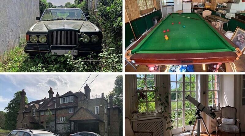 В Британии нашли брошенный четыре года назад особняк