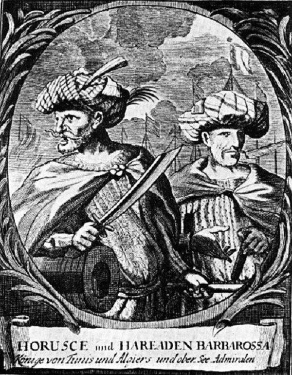 Братья Барбаросса. История самых знаменитых пиратов Средиземноморья