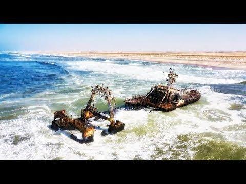Побережье Намибии. Берег скелетов
