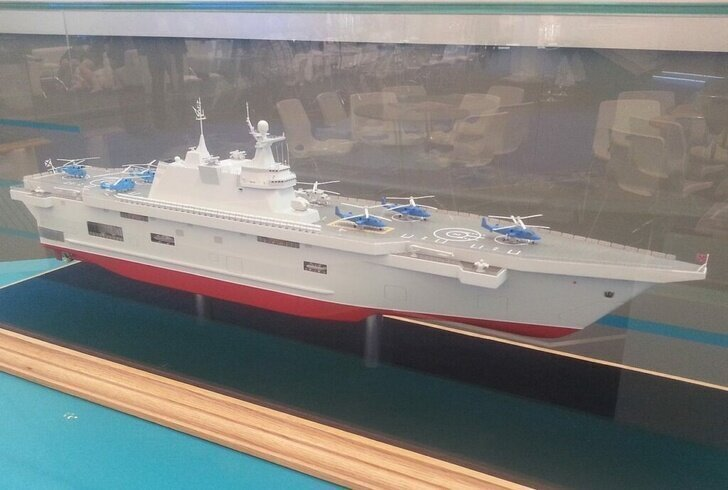Минобороны подписало с СЗ «Залив» контракт на постройку двух вертолетоносцев