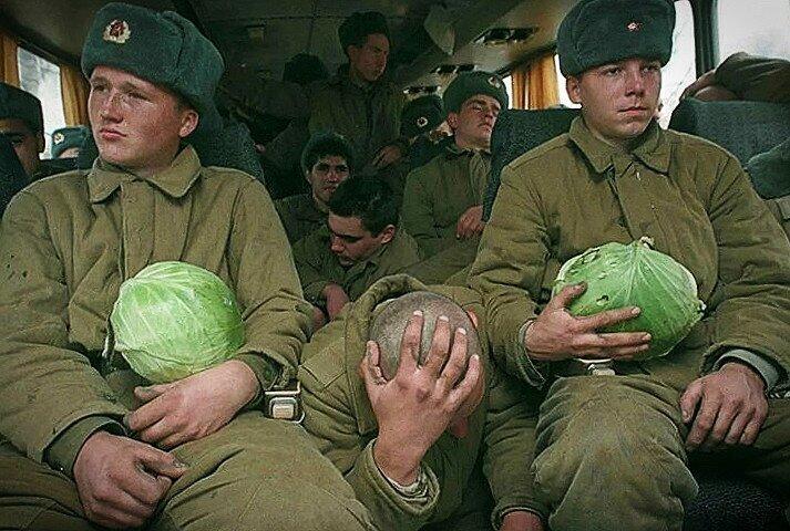 Блеск и нищета Советской Армии конца 20 века. Воспоминания очевидца