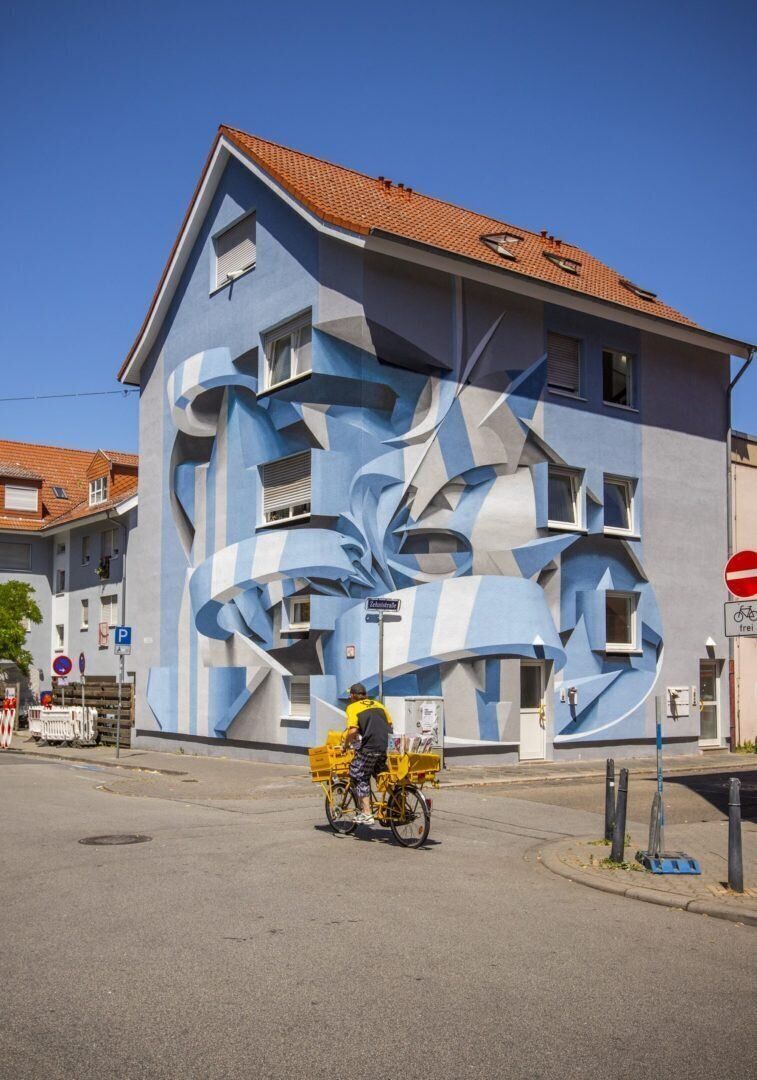 Поразительные 3D граффити от Мануэля де Рита