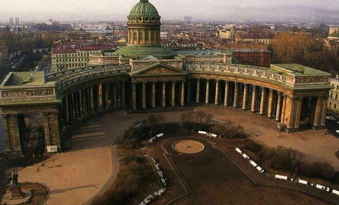 Прошлое Казанского собора: под землей нашли закопанный этаж