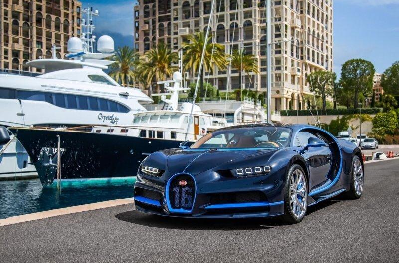 Сколько стоит подержанный Bugatti Chiron? Трехлетний гиперкар продают с хорошей скидкой
