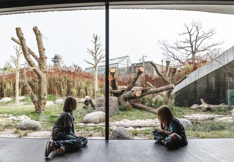 «Дом» для панд в Копенгагенском зоопарке
