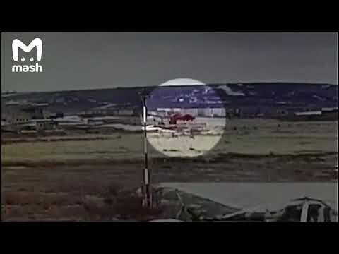 Момент падения Ми-8 в Анадыре попал на камеры