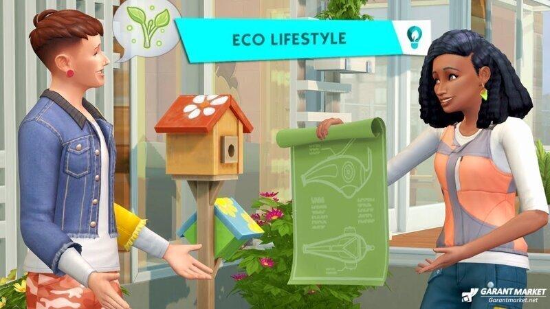 Мечта Греты Тунберг: новое дополнение для The Sims 4 — Eco LifeStyle