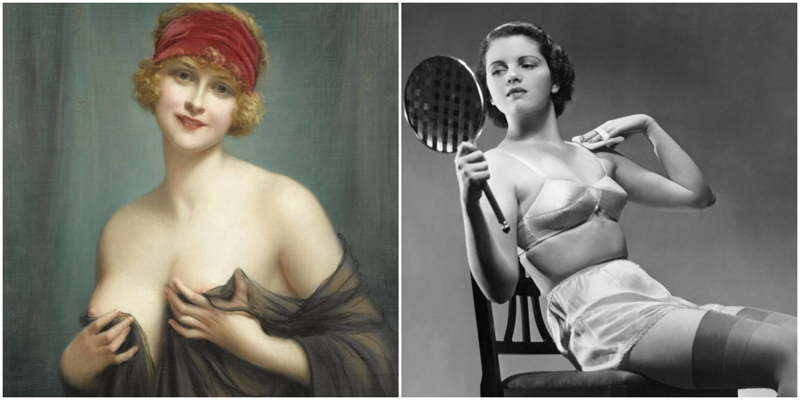 Как женщины увеличивали грудь век назад?