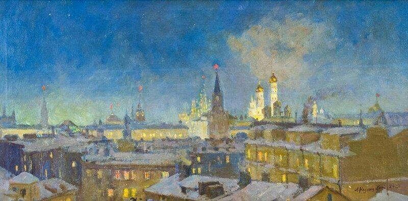 Советская Москва глазами художников