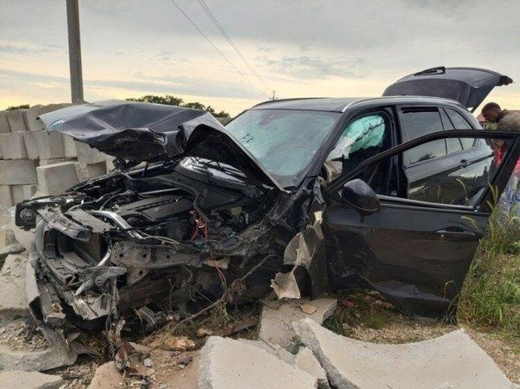 Авария дня. Пьяный водитель BMW устроил серьезное ДТП в Севастополе
