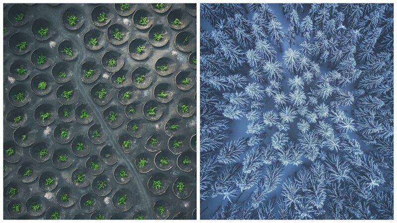 Фотограф показал, какие потрясающие узоры рисует для нас Земля