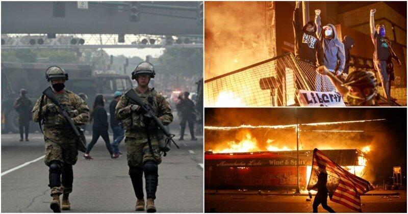 Свыше 500 бойцов Национальной гвардии США направлены в Миннеаполис из-за погромов